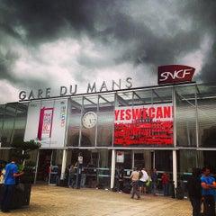 Photo taken at Gare SNCF du Mans by Corey G. on 6/23/2013