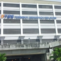 Photo taken at Terminal Bersepadu Selatan (TBS) / Integrated Transport Terminal (ITT) by Shidi 5. on 2/21/2013