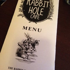 Photo taken at Rabbit Hole Cafe by Jen A. on 10/3/2014