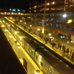 Photo taken at LIRR - Huntington Station by Jonathan . on 4/16/2013