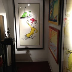 Photo taken at The Art of Dr. Seuss by Arian A. on 12/31/2012