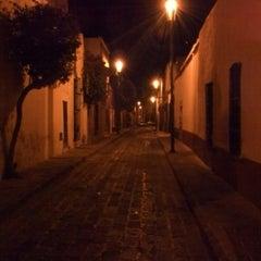 Photo taken at Santiago de Querétaro by Fernando P. on 1/26/2013