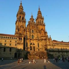 Photo taken at Catedral de Santiago de Compostela by Cecilia T. on 7/7/2013