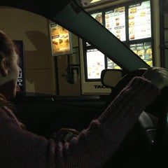 Photo taken at Taco Bell by Maggie K. on 1/19/2013
