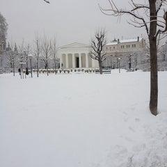 Photo taken at Volksgarten by Angelika F. on 2/23/2013