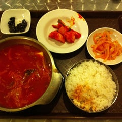 Photo taken at Hi Seoul Korean Fusion Foods by Agnes Y. on 5/11/2013