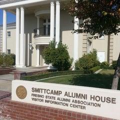 Photo taken at Smittcamp Alumni House - Fresno State Alumni Association by Joseph Z. on 10/25/2013
