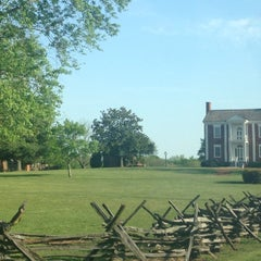 Photo taken at Vann House Historic Site by Derek D. on 4/21/2013