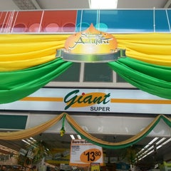 Photo taken at GIANT Super by Kyle ك. on 7/14/2014