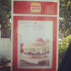 Photo taken at Hungry Jack's by Ben B. on 12/17/2012
