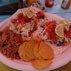 Photo taken at Key West Tacos by Reggie C. on 8/6/2015