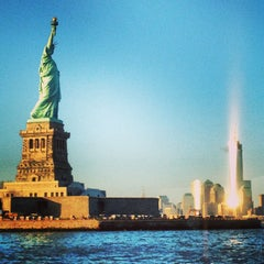 Photo taken at Statue of Liberty by Josh R. on 5/3/2013