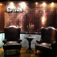 Photo taken at The Edison by Mischief O. on 10/26/2012