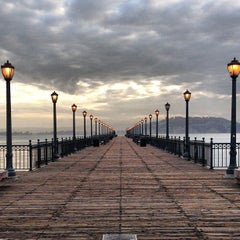 Photo taken at Pier 7 by Aaron D. on 5/7/2013
