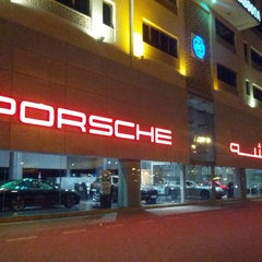 Photo taken at Porsche Showroom by Sonia M. on 3/15/2013