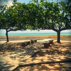 Photo taken at Praia Mirante da Sereia by Rafaela L. on 2/4/2013