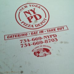 Photo taken at NYPD - New York Pizza Depot by Sarah L. on 4/29/2013