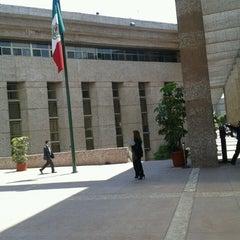 Photo taken at Palacio De Justicia Federal by Jorge M. on 4/4/2013