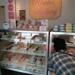 Photo taken at Rowie's Bakery by Darren P. on 7/6/2013