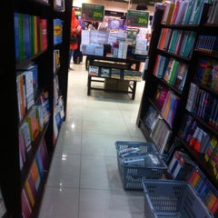 Photo taken at Harris Bookstore by Ain. M on 3/28/2014
