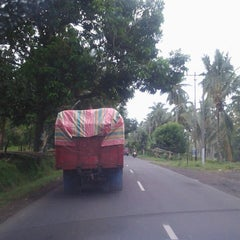 Photo taken at Jalan Worang Bypass by Loula W. on 1/11/2014