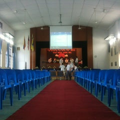 Photo taken at Methodist Boys' Secondary School by LianHongg on 4/19/2013