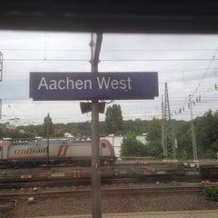 Photo taken at Bahnhof Aachen West by Wilco d. on 5/21/2014