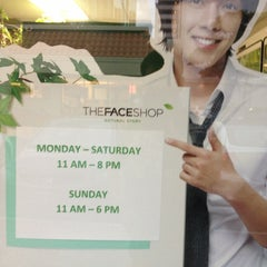 Photo taken at The Face Shop by Austin H. on 1/7/2013