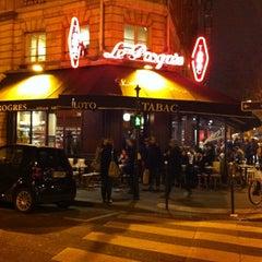 Photo taken at Le Progrès by Letizia C. on 3/10/2013