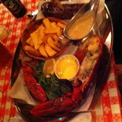 Photo taken at Big Easy Bar.B.Q & Crabshack by Miriam M. on 4/25/2013