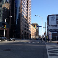 Photo taken at Church St & Bloor by Christian P. on 4/27/2013