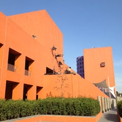 Photo taken at Centro Nacional de las Artes by Fernando R. on 11/8/2012