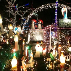 Photo taken at Christmas Light Display (christmasdisplay.org) by Gatis A. on 12/23/2013