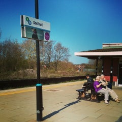 Photo taken at Solihull Railway Station (SOL) by Louise B. on 5/1/2013