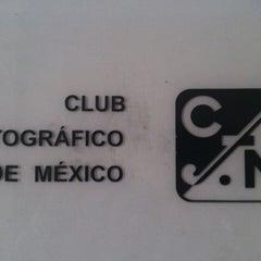 Photo taken at Club Fotográfico de México by Jorge A. on 4/13/2013