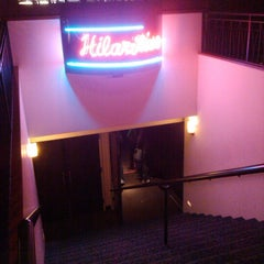 Photo taken at Hilarities 4th Street Theatre by Rachel B. on 2/1/2013