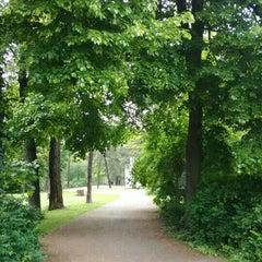 Photo taken at H Bürgerpark Pankow by Tom J. on 5/18/2015
