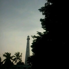 Photo taken at Mercusuar Anyer by Amelia N. on 3/24/2013