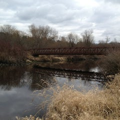 Photo taken at Mercer Slough North Bridge by Tong M. on 2/8/2013