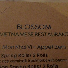 Photo taken at Blossom Vietnamese by Christian S. on 7/23/2013