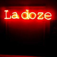 Photo taken at La Doze by Chris L. on 4/6/2013