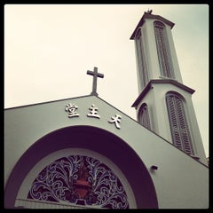 Photo taken at Church of Our Lady of Sorrows by Mark A. on 10/6/2013