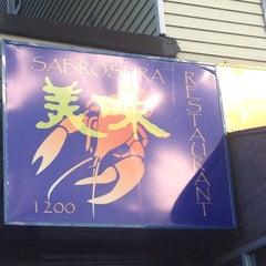 Photo taken at Sabrosura by Christina C. on 10/21/2012