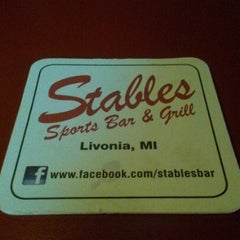 Photo taken at Stables Bar & Grill by Bob S. on 1/21/2013