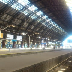 Photo taken at Trenes de Buenos Aires S.A. by Raynnier G. on 4/18/2014