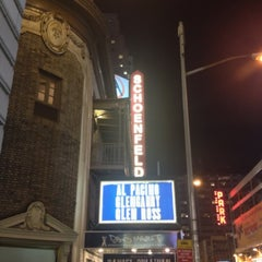 Photo taken at Gerald Schoenfeld Theatre by Martin S. on 10/19/2012