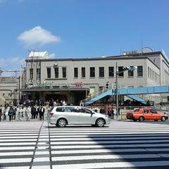 Photo taken at JR 上野駅 (Ueno Sta.) by Kitti N. on 4/11/2013