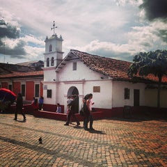 Photo taken at Chorro de Quevedo by Leandro G. on 1/29/2013