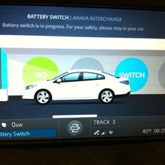 Photo taken at Better Place Battery Switch Anava Int by Mitch S. on 11/25/2012