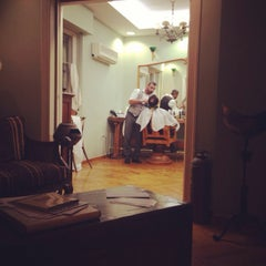 Photo taken at Barber Shop 1900 by Christophoros K. on 12/12/2013